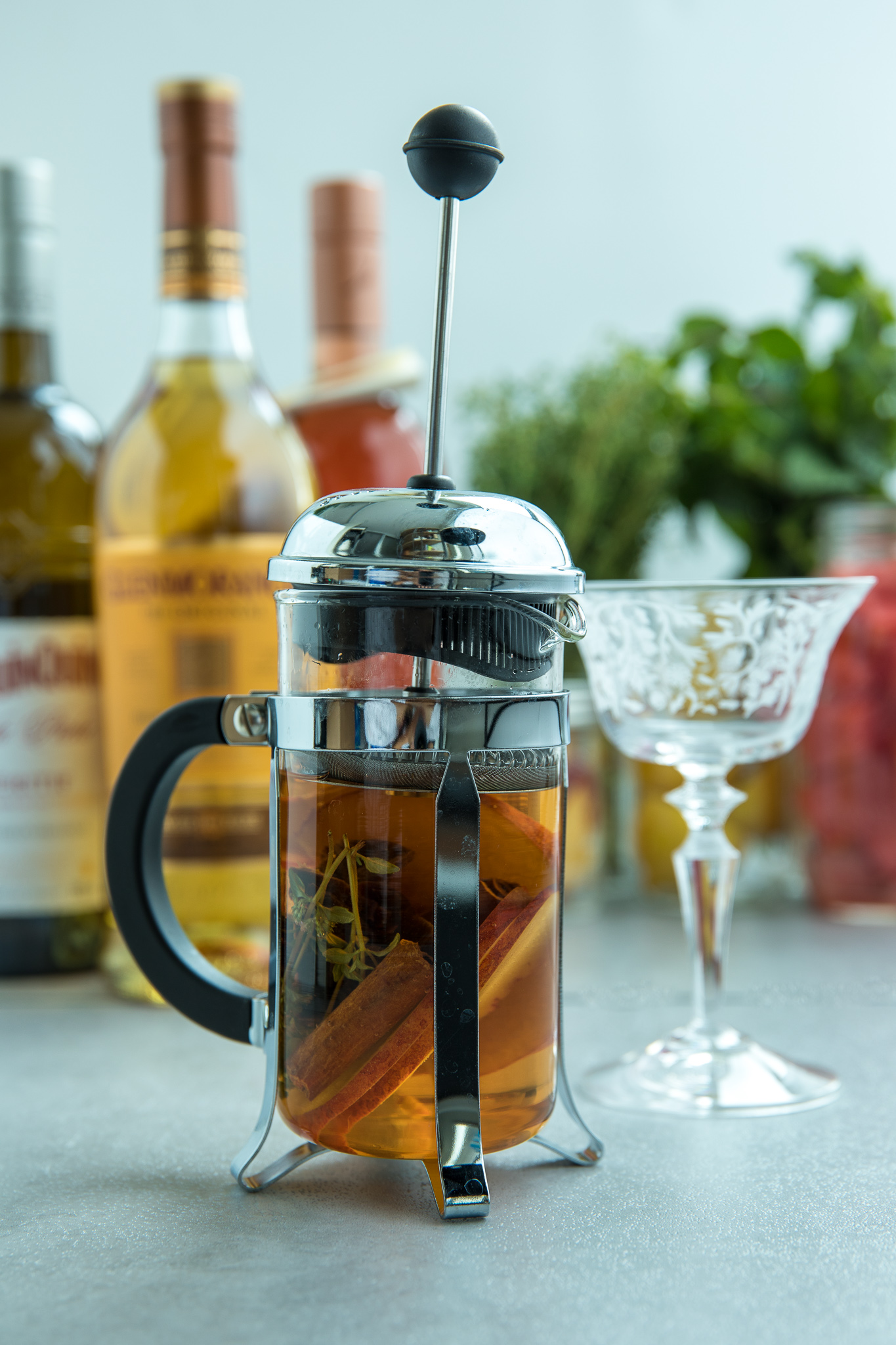 It's Scotch Thyme – French Press Cocktail