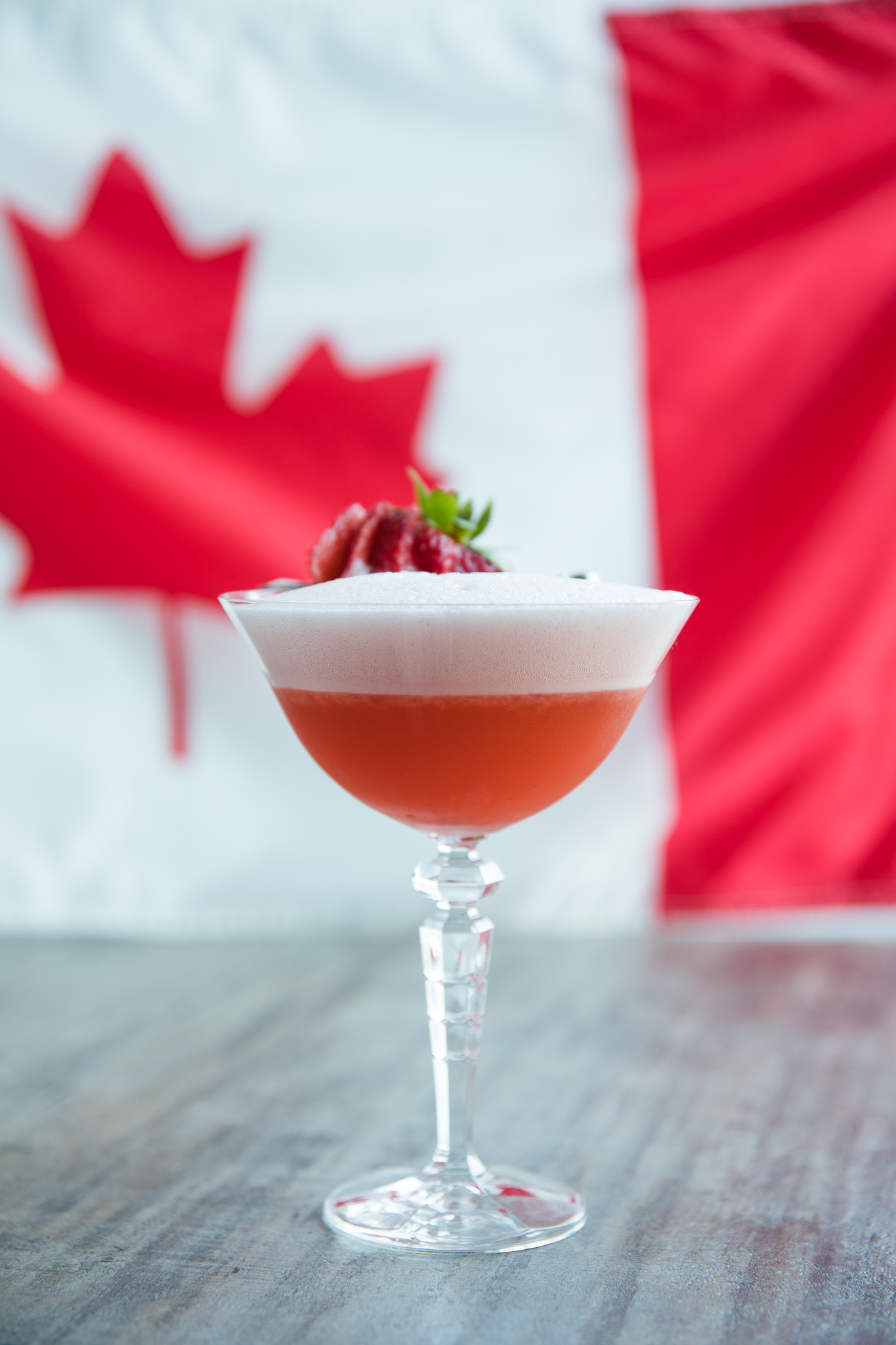Canadian Strawberry Sour