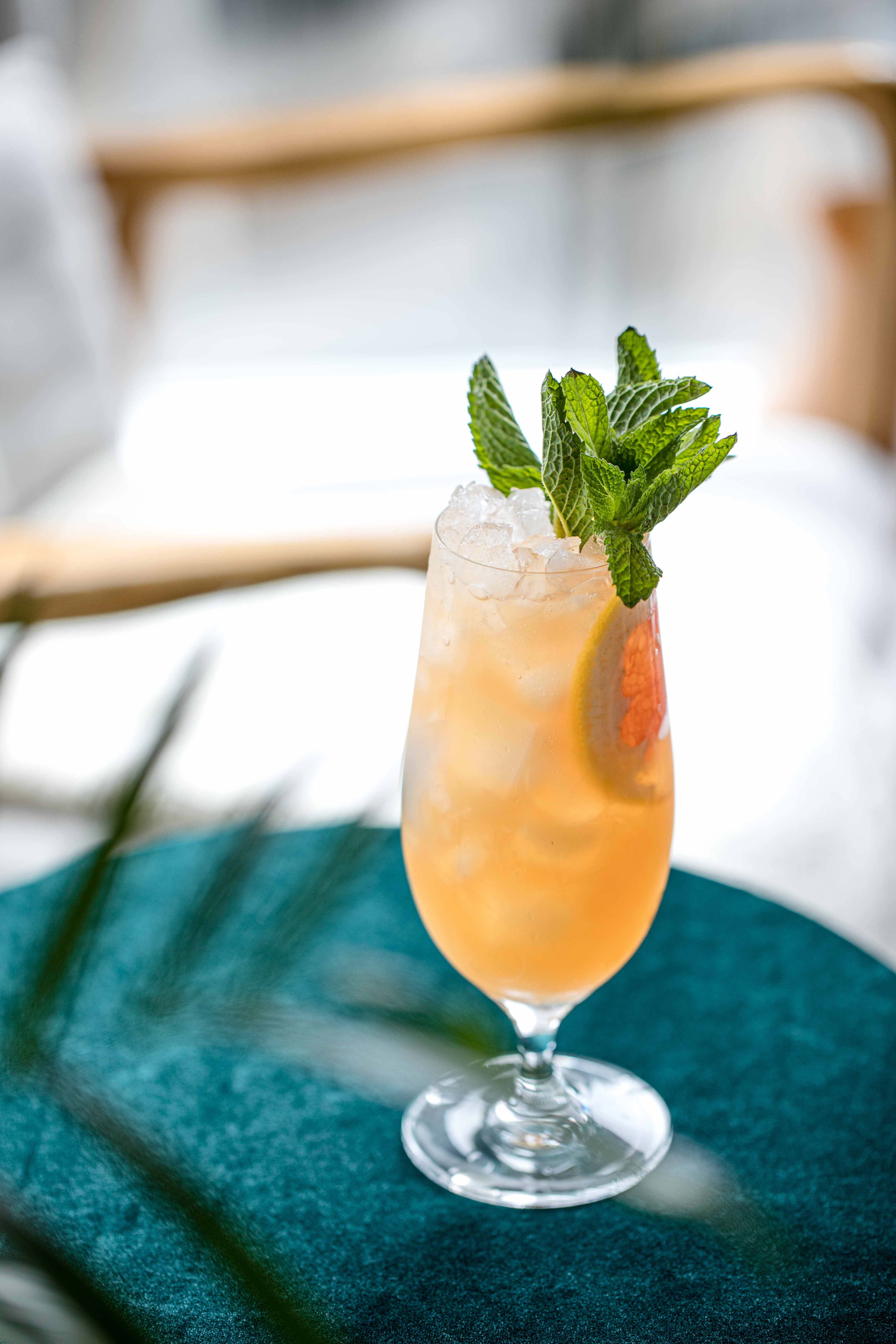 A Sober Girls Cocktail – Non Alcoholic Gin, Passionfruit, Ginger, Grapefruit Tiki Imbibe