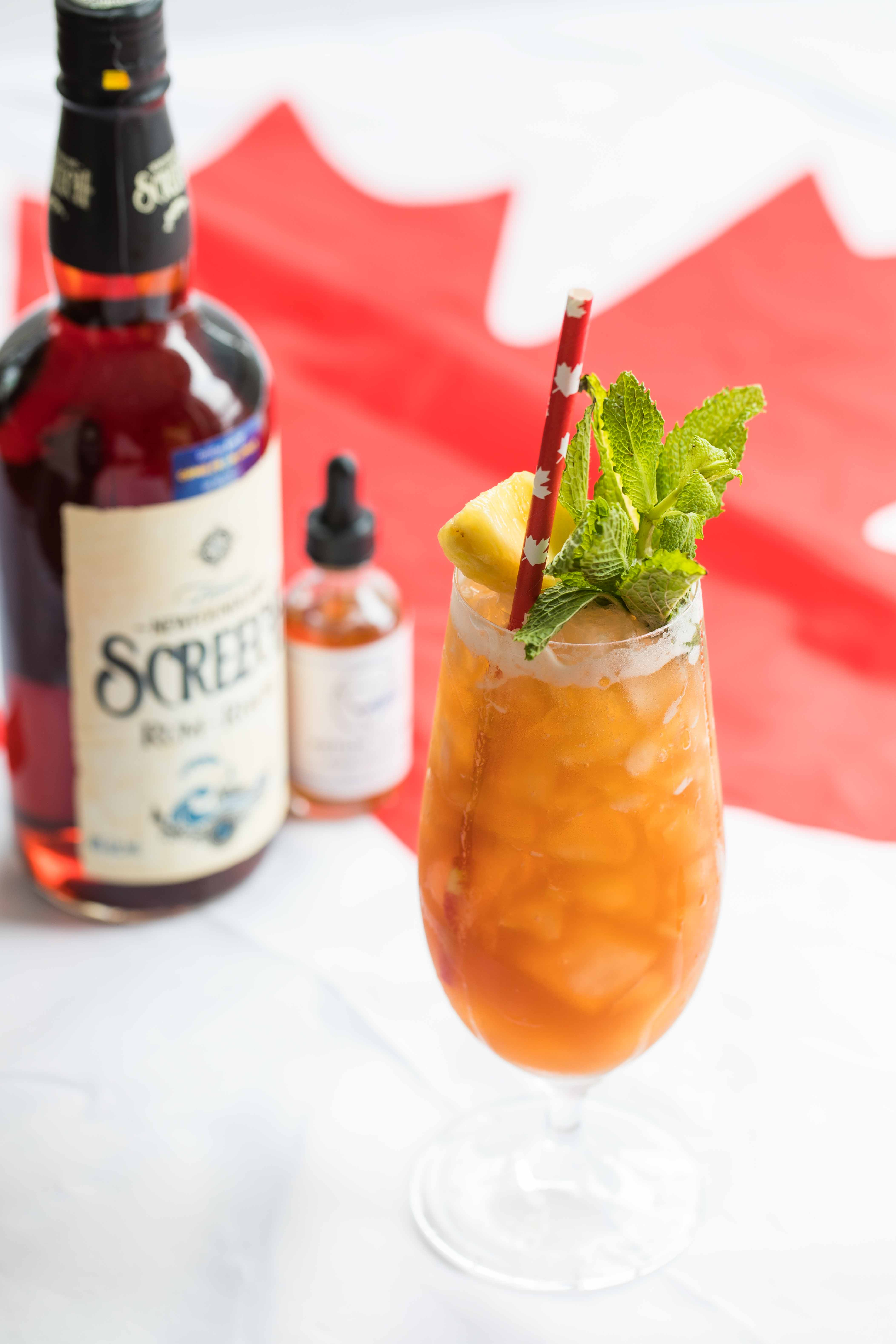 Exploring Canada with Cocktails: Newfoundland Screech Rum Cocktail
