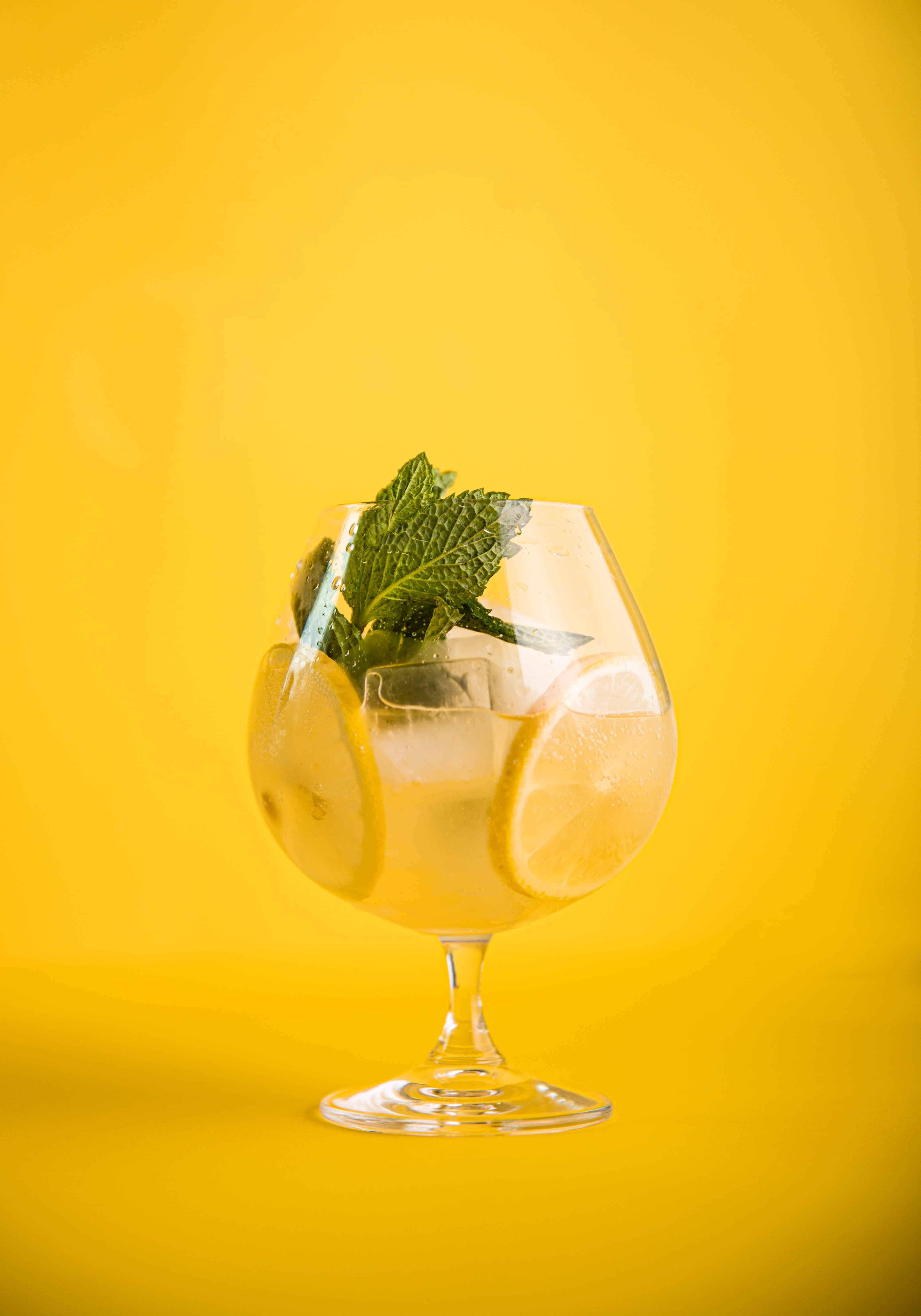 Bright Peach & Lemon Aperitivo Spritz