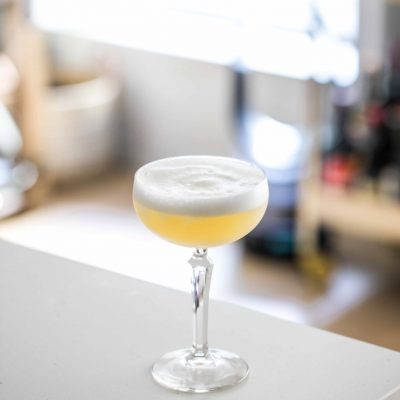 Gin Apple Sour-1