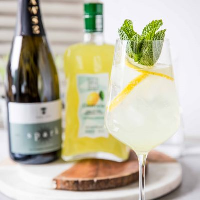 Limoncello Mint Spritz-4