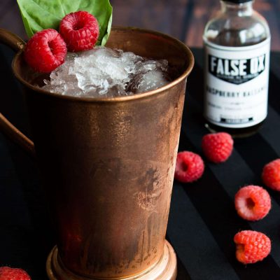 Raspberry, Balsamic Bourbon Julep (4)